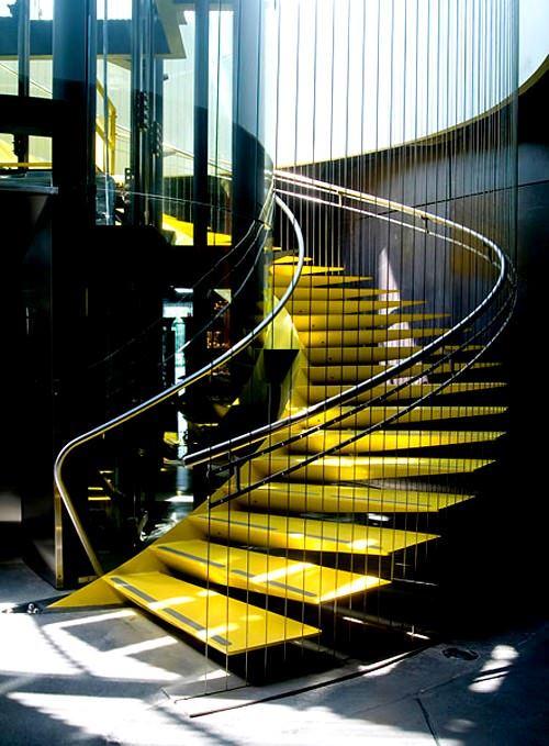 Dekoratif Modern Merdiven Tasarımları 4