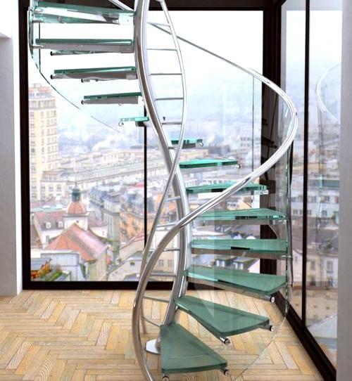 Dekoratif Modern Merdiven Tasarımları 6