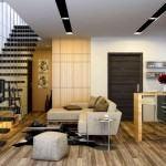 Zarif Ve Şık Oturma Odası Dekorasyon Fikirleri 8
