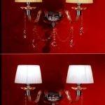 modern aplik aydınlatma sistemleri - abajur modeli dekoratif aplik aydinatma 150x150 - Modern Aplik Aydınlatma Sistemleri