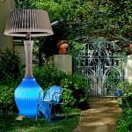 açık hava aydınlatma isıtma sistemi