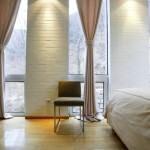 dekoratif perde desenleri ve modelleri - acik renk yatak odasi perde 150x150