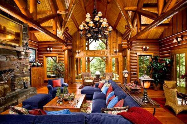 Doğal Ahşap Ev Tasarımları
