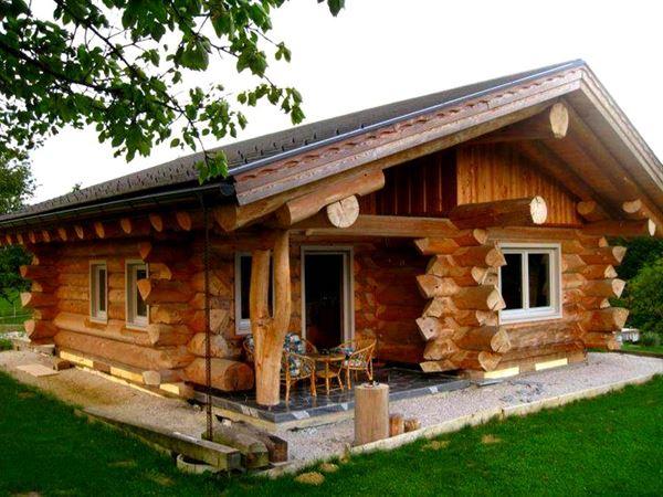 Muhteşem Doğal Ahşap Ev Tasarımları 17