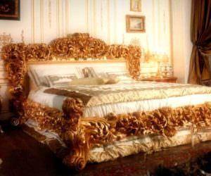 Ağır Klasik Yatak Odası Tasarımları
