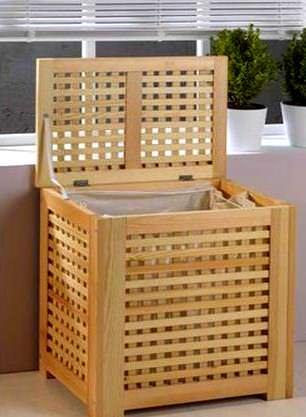 Banyo Kirli Çamaşır Sepet Modelleri 2