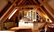 Çatı Katı Daire Dekorasyon Modelleri