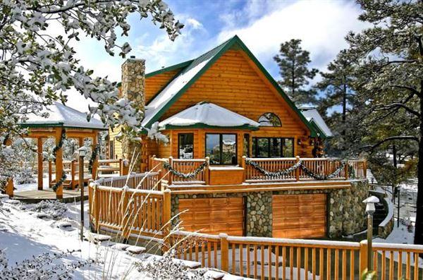 ağaç dağ ev modelleri