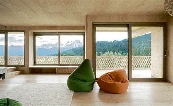 ahşap dağ evi tasarımı - ahsap dag manzarali ev - Ahşap Dağ Evi Tasarımı