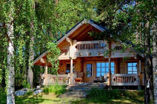 ağaç ev yapan firmalar muhteşem doğal ahşap ev tasarımları
