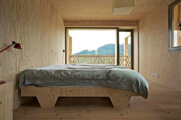 ahşap dağ evi tasarımı - ahsap duvarli ev modeli - Ahşap Dağ Evi Tasarımı