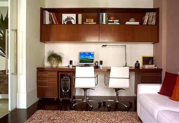 Ev Çalışma Odası Dekorasyon Fikirleri 9