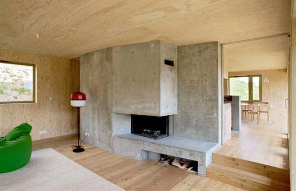 ahşap dağ evi tasarımı - ahsap ev modelleri - Ahşap Dağ Evi Tasarımı