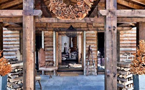 Ahşap Dağ Evi Tasarımı Ve Dekorasyonu 25