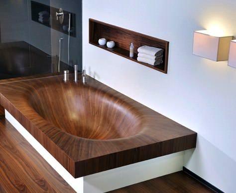 Banyolarınız İçin Ahşap Küvet Tasarımları 1