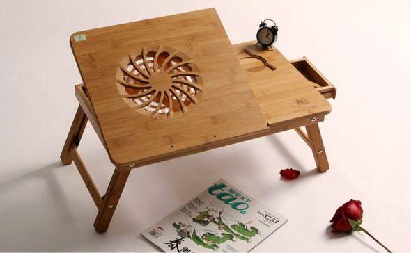Fonksiyonel İlginç Laptop Masası Modelleri 1