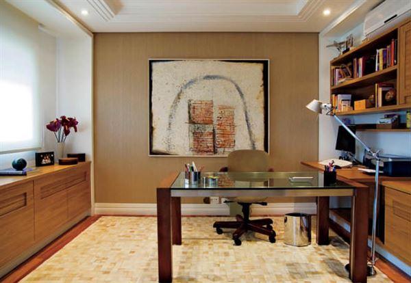Ev Çalışma Odası Dekorasyon Fikirleri 10