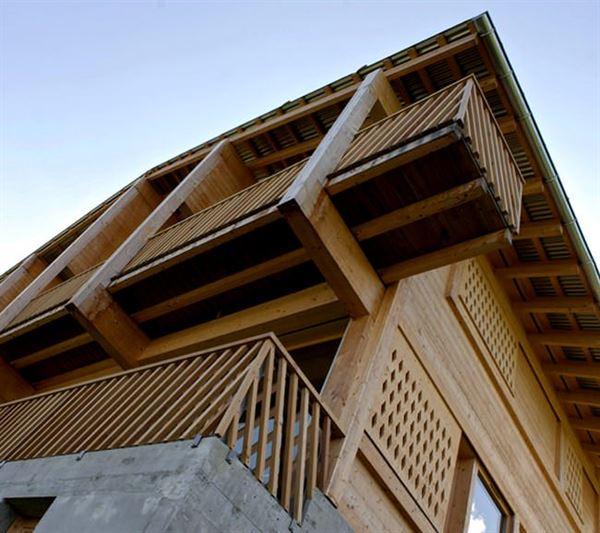 Ahşap Dağ Evi Tasarımı