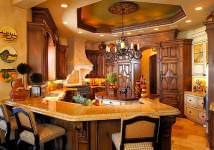 akdeniz stili dekorasyon fikirleri - akdeniz stili contry mutfak 214x150 - Akdeniz Stili Dekorasyon Fikirleri