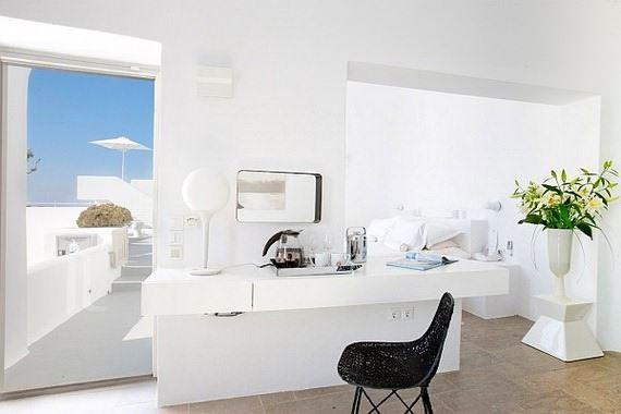 akdeniz stili beyaz dekorasyon