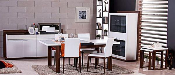 alfemo yeni model yemek odası takımları - alfemo como yemek odasi beyaz ceviz - Alfemo Yeni Model Yemek Odası Takımları
