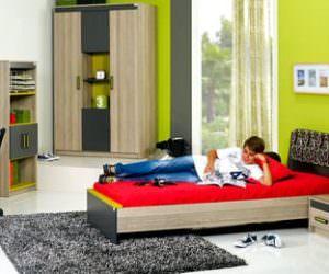 Alfemo Mobilya Yeni Tasarım Genç Odası Modelleri