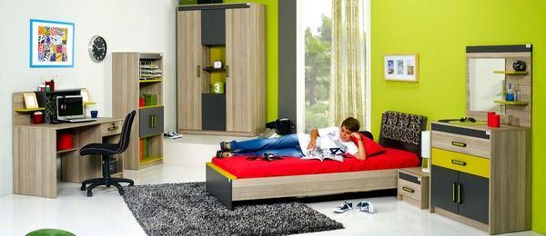 Alfemo Mobilya Yeni Tasarım Genç Odası Modelleri 5