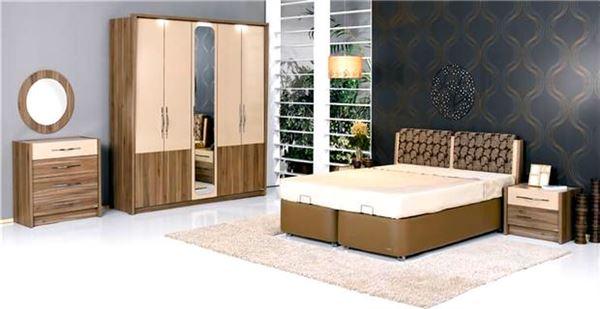 alfemo aynalı yatak odası