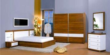 ceviz yatak odası modelleri