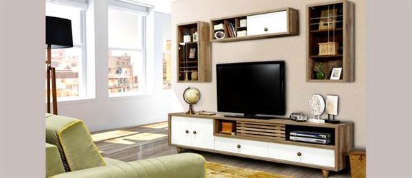 raflı tv ünite