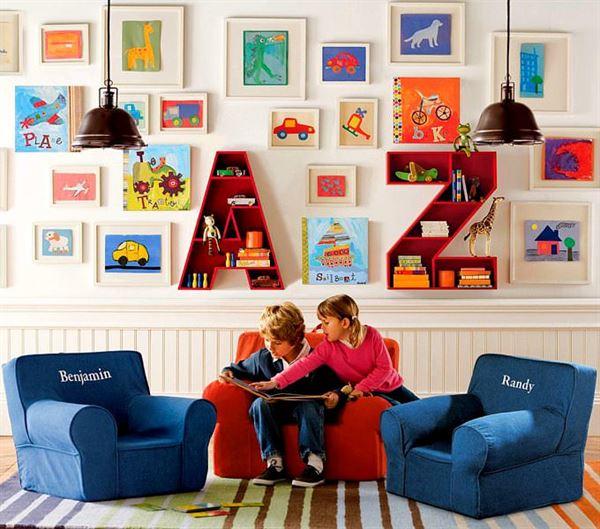 anaokulu çocuk odası dekorasyon
