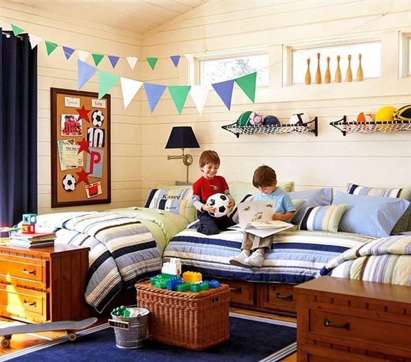 çocuk odası oyun bölümü