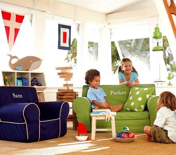 çocuk odası oyun alanı dekorasyon