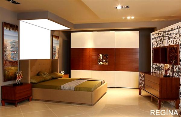 atalar modern yatak odasi
