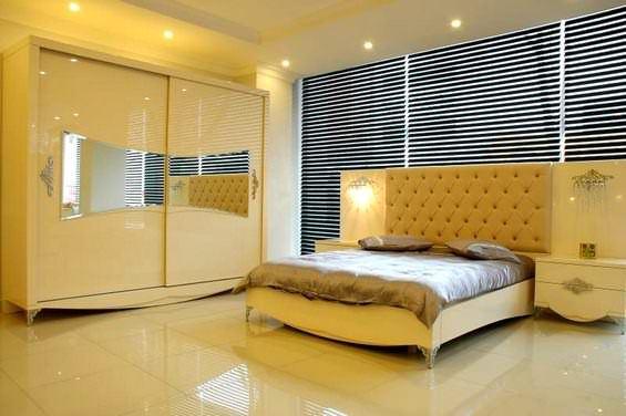 Avangard Yatak Odası Tasarımları 4