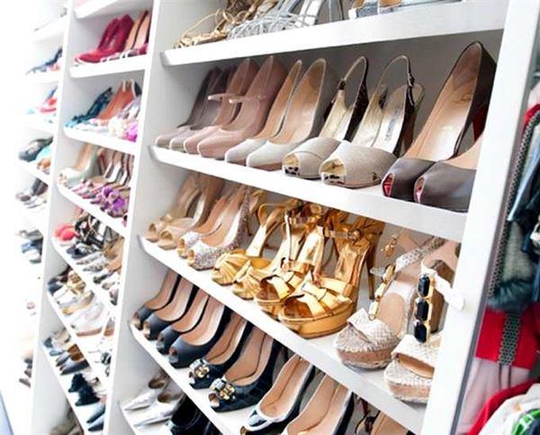 Ayakkabı Saklama Depolama Dolap Fikirleri 9