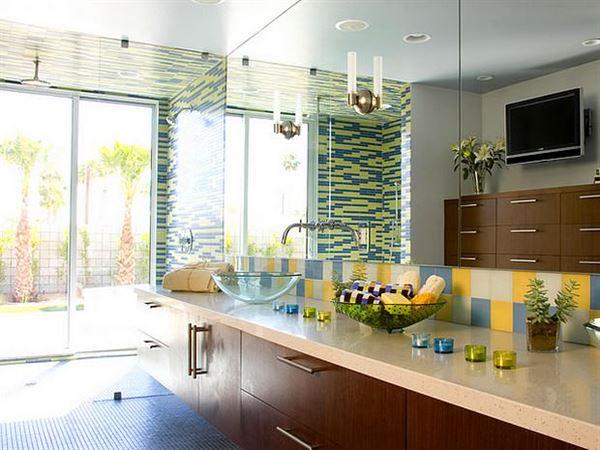 banyo depolama alanları dekorasyon stilleri - aydinlik banyo - Banyo Depolama Alanları Dekorasyon Stilleri