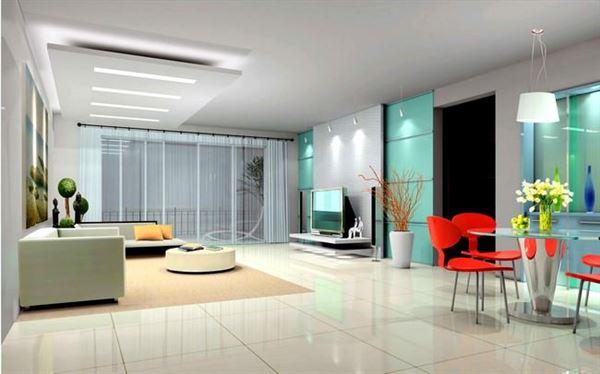 modern Şık ve dekoratif İç dekorasyon fikirleri
