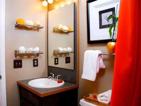 banyo depolama alanları dekorasyon stilleri - ayna onu raflar - Banyo Depolama Alanları Dekorasyon Stilleri