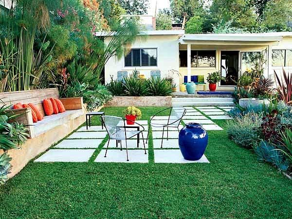 Bahçe Peysaj Ve Dekorasyon Fikirleri