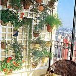 dekoratif-bahce-ve-balkon-ciceklik-fikirleri dekoratif bahçe ve balkon Çiçeklik fikirleri - balkon duvar cicek raf modelleri 150x150