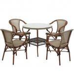 tepe home dış mekan masa sandalye koltuk modelleri - bambu masa sandalye 150x150 - Tepe Home Dış Mekan Masa Sandalye Koltuk Modelleri