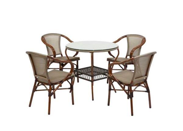 banbu masa sandalye takımı