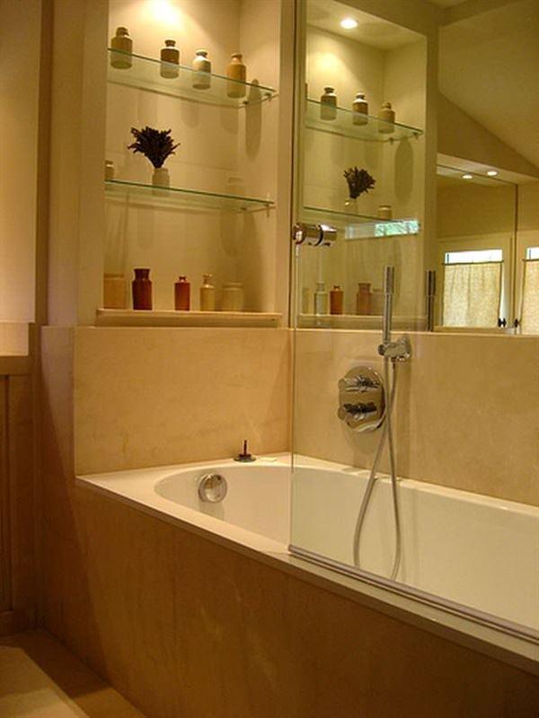 banyo cam raf modelleri