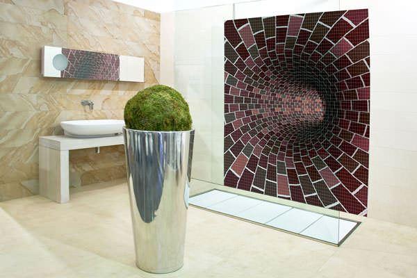 desenli banyo karoları duvar mozaik modelleri - banyo ilginc desenler - Resimli Banyo Duvar Mozaik Modelleri