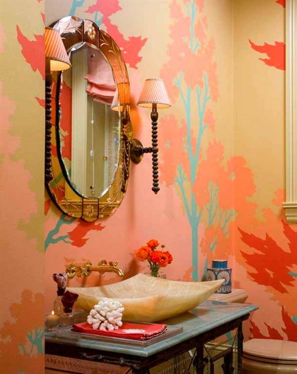 Интерьер ванной комнаты фото своими руками