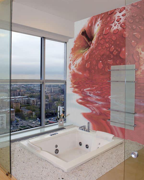 resimli banyo çinileri duvar mozaik modelleri - banyo resimli cini modelleri - Resimli Banyo Duvar Mozaik Modelleri
