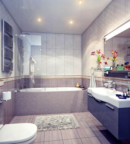 Ultra Lüks Dekorasyonlu Banyo Örnekleri 3