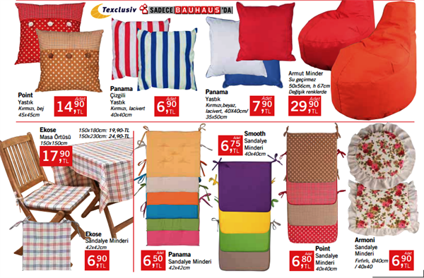 Bauhaus Yazlık Tekstil Ürünleri Ve Fiyatları 17