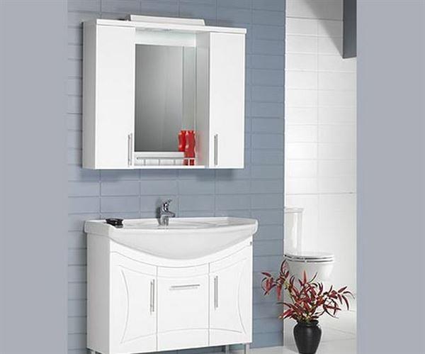 Ahşap Banyo Dolap Modelleri Ve Renkleri 3